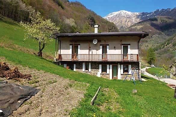 Foto 1 di Rustico / Casale Borgata Campo la Salza 6, Massello
